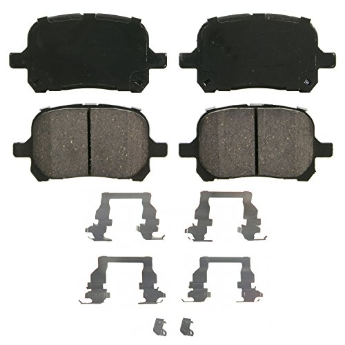 Wagner QuickStop ZD707 Ceramic Disc Pad Set, Front
