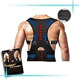 Magnetic Therapy Back Shoulder Support Brace Lumbar Spine Correction Belt Unisex - Humpback
