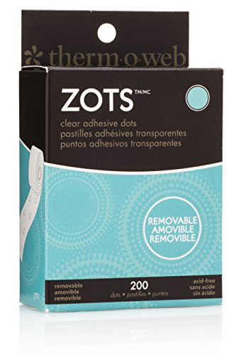 zots-clear-adhesive-dots-removable-3-8x1-64-thick-200-pkg