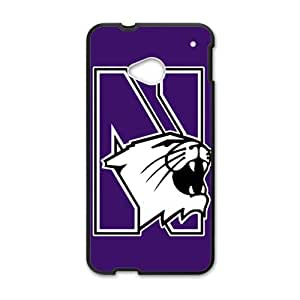 SANYISAN Northwestern Wildcats Design Plastic Case Cover For HTC M7
