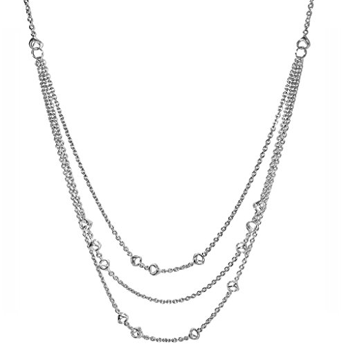 Di MODOLO Icona Sterling Silver Drape Necklace by Di MODOLO MILANO
