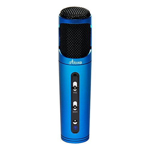 Full Power - Personal Portable Wireless Karaoke Microphone idol K8 (Ocean Blue)