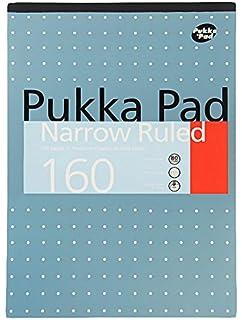 Pukka A4 Refill Pad 160P Narrow Ruled - Pack of 6: Amazon co