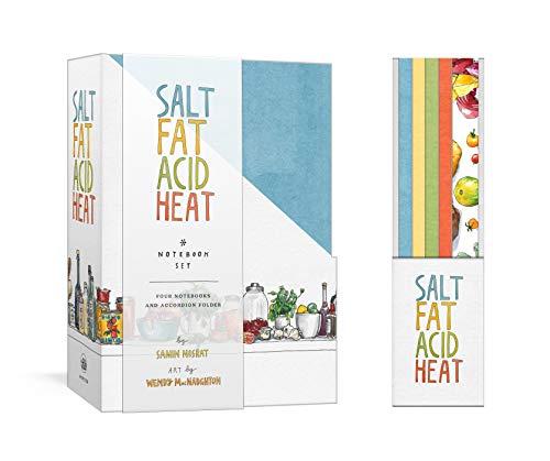 Salt, Fat, Acid, Heat Four-Notebook Set by Samin Nosrat