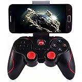 Control Bluetooth Gamepad Android Bluetooth Gamepad, joysticks Wireless Game Controller, juego de vídeo Soporte para PC, comp