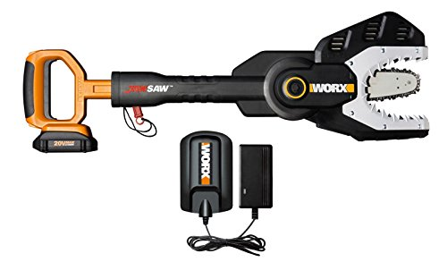 WG320 WORX 6'' 20V Cordless Lithium-ion Battery Powered JawSaw Chainsaw by Tool Sets