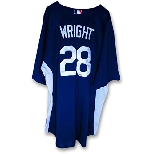 63becb841 Jamey Wright LA Dodgers Team Issue Batting Practice Jersey #28 MLB FJ875463  - MLB Game