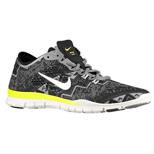 timeless design c895c 50b87 Galleon - Nike Free 5.0 TR Fit 4 PRT Womens Black Ivory Light Ash Training  Sneakers
