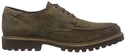 camel active Harvard 20 - zapatos con cordones de cuero hombre gris - Grau (dk.taupe)