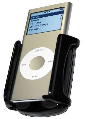 Bracketron IPM-202BL Docking Cradle Mount for iPod and iPhone (Black)