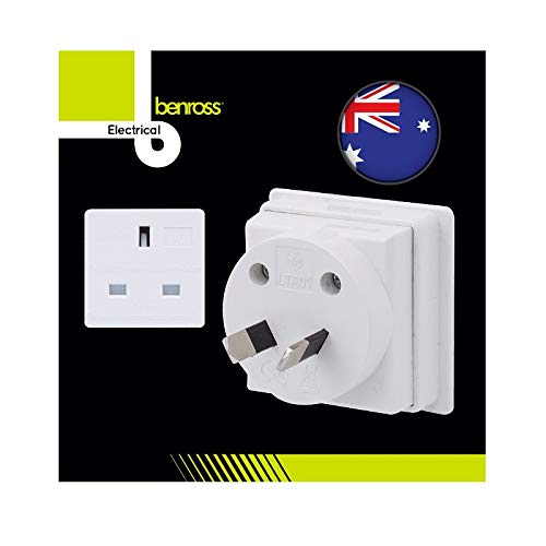 The Home Fusion Company Travel Adapters For Travelling – UK Europe USA Australia Ireland Plus Shaver Adapter