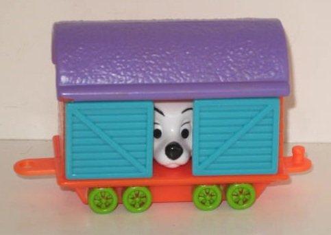 Vintage Disney 102 Dalmations McDonalds Happy Meal Toy ~ Train Car 2000