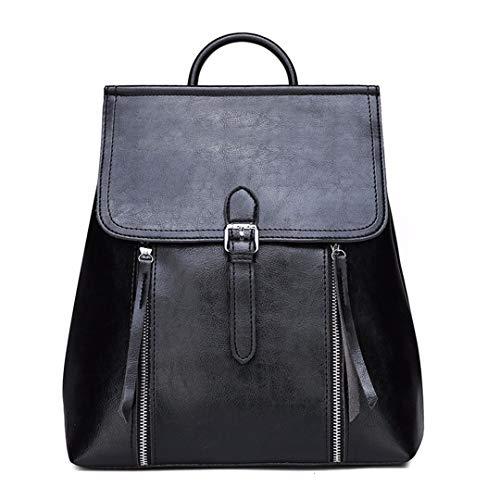Lusso Borse Vintage In Zaini Pelle Di Donna Da Black Designer Uq15RASxwR