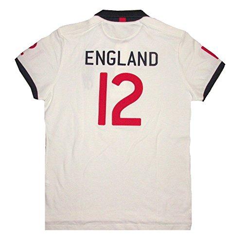 Polo Ralph Lauren Men's England Jersey Polo Shirt Classic Fit (LARGE)