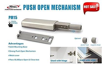 Temax Cabinet Door Drawers Push Opening System Damper Buffer Push Latch  20pcs/lot