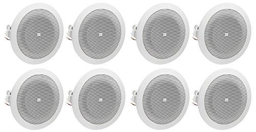 Best Jbl In Ceiling Speakers - (8) JBL 8124 4