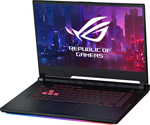 ASUS ROG Strix G531GT-BQ005 – Ordenador portátil Gaming 15.6″ FullHD (Intel Core i5-9300H, 8GB RAM, 1TB HDD, NVIDIA GeForce GTX1650 4GB, sin Sistema operativo) Negro – Teclado QWERTY español