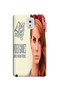 New techology tpu phone case cover for Samsung Galaxy note3(Lana Del Rey) by Paul Lawrencen to make your phone unique