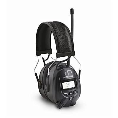 GSM Outdoors GWP-RDOM Walkers Game Ear Am/FM Radio Muff with Digital Display from Walkers Game Ear