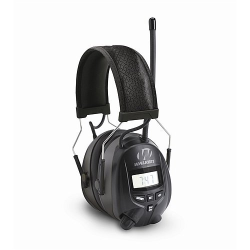 GSM Outdoors GWP-RDOM Walkers Game Ear Am/FM Radio Muff with Digital -