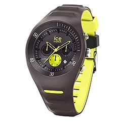 Ice-Watch - P. Leclercq Anthracite - Montre grise pour homme avec bracelet en silicone - Chrono - 014946 (Large) 1