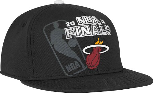 (NBA Miami Heat Official 2012 Eastern Conference Champions Locker Room Flex-Fit Hat, One Size)