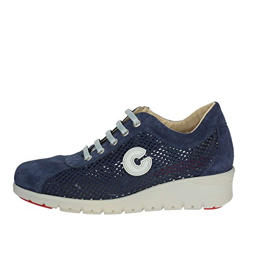 Blue Low 002 Cinzia Women IE9884A 40 Sneakers Soft wTY1qZ