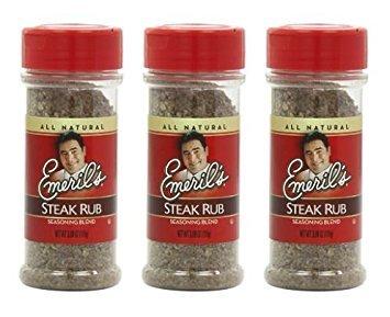 Emerils Rubs (Emerils Seasoning Blend, Steak Rub, 3.88 Ounce (Pack of 3))