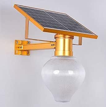 مصباح LED شمسي مقاوم للماء في الهواء الطلق مصباح حديقة مصباح الشارع أبيض LED