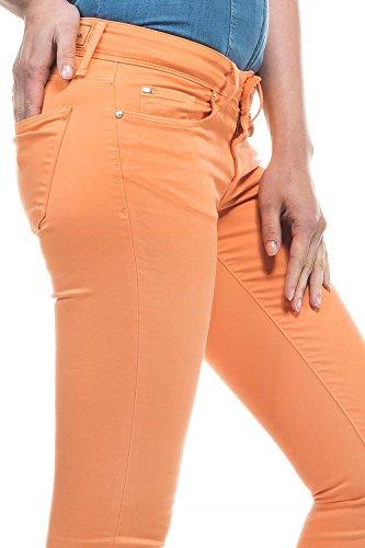 SALSA Pantalones Colette Skinny de sarga Naranja