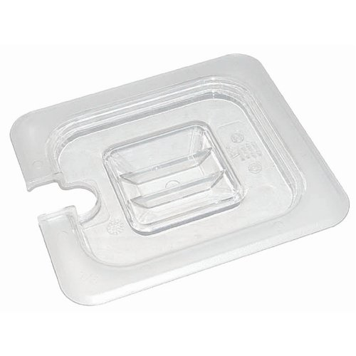 Vogue U253 Polycarbonate 1/4 Gastronorm Notched Lid Nisbets