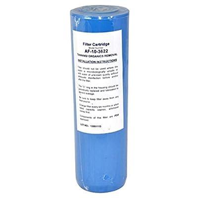 "Aries AF-10-3622 Organic/Tannin Filter, 9.75 x 3"""