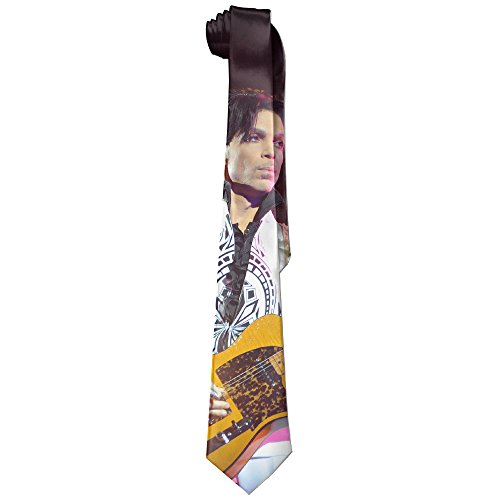 Mens Forever Prince Guitar Sing Leisure Wide Tie Necktie Costume Accessory Fashion (Prince Singer Costumes)