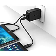 Quick Charge 3.0 Intuos Creative Stylus 2 Wall Charger Kit with USB-C & USB Ports and Volt IQ Enhancements. Includes full power USB-C & Micro-USB 2.0 Cables.