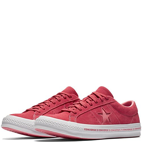 Paradise Pink Fitness Ox Unisex Pink 637 Converse Pink Shoes One Adults' Star Suede Lifestyle Geranium xqvwngZPwf