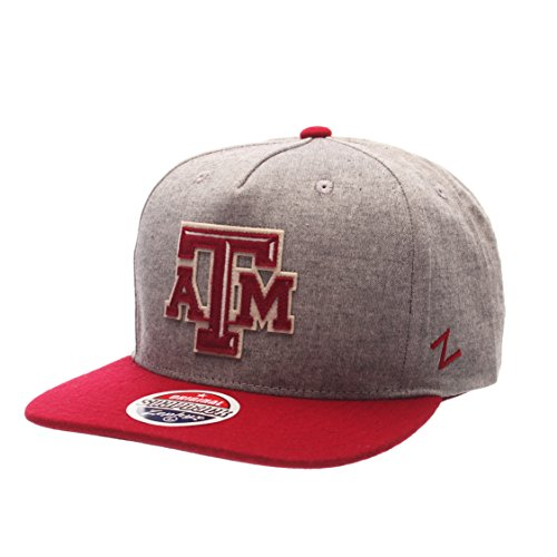 ncaa-texas-am-aggies-mens-boulevard-snapback-cap-suit-cardinal-adjustable
