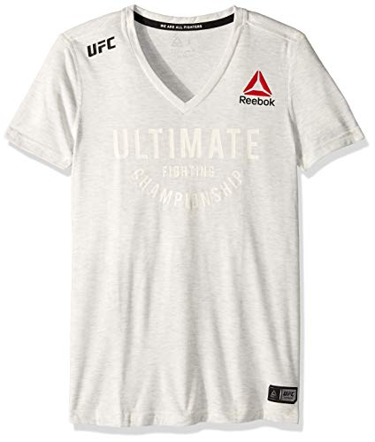 (Reebok UFC Ultimate Jersey, Chalk,)