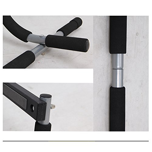 Exercise Bands Bar: EXEFIT Door Gym Bar With Resistance Bands Total Upper Body