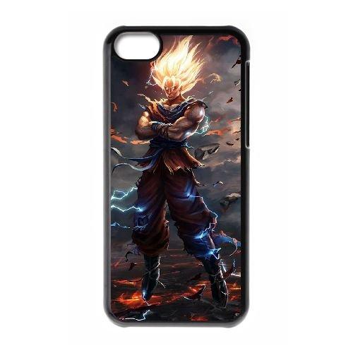 Dragon Ball Goku UU26YS5 cas d'coque iPhone de téléphone cellulaire 5c coque N3YK4B8FR