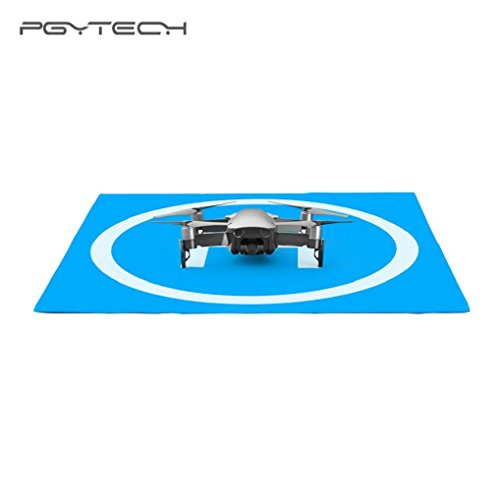 Landing Pad for DJI MAVIC AIR/Spark,Quadcopter Parking Carpet Portable Foldable Landing Pad for DJI MAVIC AIR/Spark (Blue) by Appoi