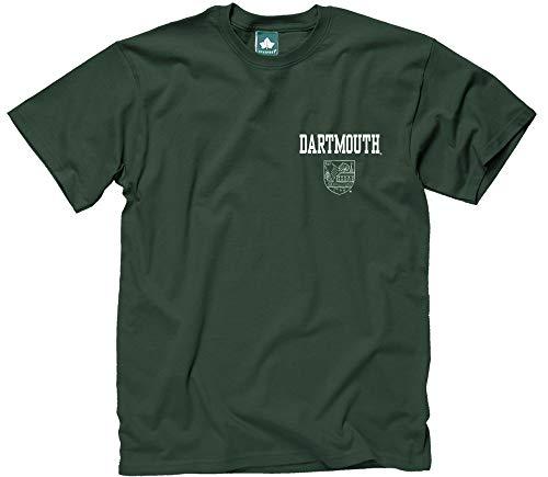 (Ivysport Dartmouth College T-Shirt, Scholar Logo, Hunter Green,)