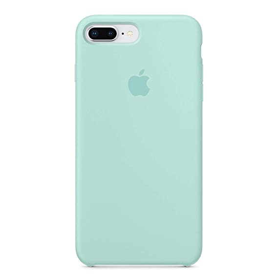 hot sale online 24b58 5fe98 Anti-Drop iPhone 8 Plus / 7 Plus (5.5Inch) Liquid Silicone Gel Case,  TOSHIELD Soft Microfiber Cloth Lining Cushion for iPhone 8 Plus and 7Plus  (Sky ...