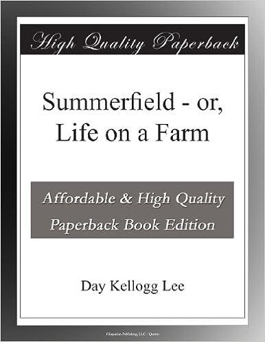 Book Summerfield - or, Life on a Farm