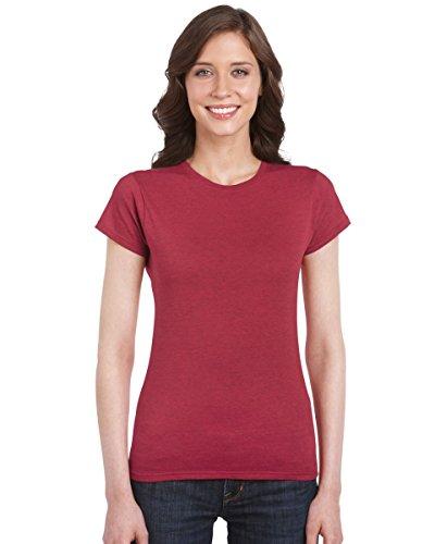 GILDAN - Camiseta - para mujer marrón chocolate