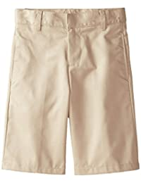 French Toast Big Boys' Basic Flat Front Short with Adjustable Waist