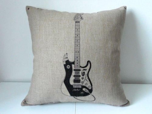 decorbox-cotton-linen-square-decorative-throw-pillow-case-cushion-cover-electric-guitar-18-x18-