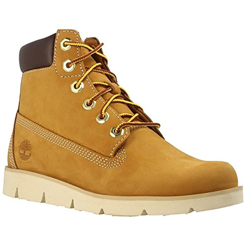 Timberland Youth Radford 6-Inch Wheat Nubuck Boots 4.5 US by Timberland