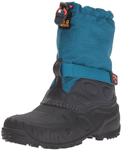 Jack Wolfskin Baby Iceland High K Snow Boot, Glacier Blue, 9 M US Toddler - Glacier Winter Boots