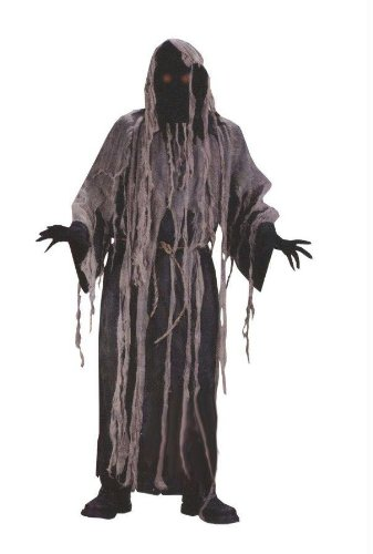 Light-Up Gauze Zombie Adult Costume - Standard