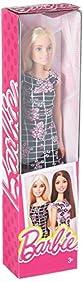 Barbie Pink-Tastic Doll, Floral Art On Black Dress